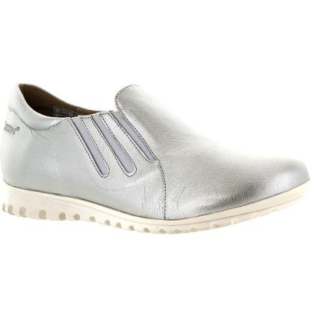 Nadine silver lätt loafer med resårer