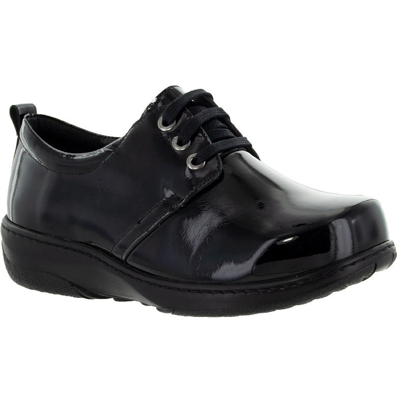 snygga skor med bred läst