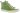 Irina äppelgrön snörkänga med perforering