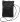 Citybag svart i skinn med blommigt foder